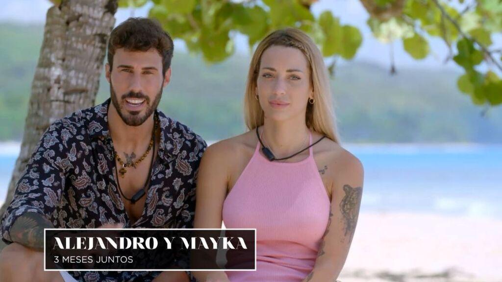 Alejandro y Mayka