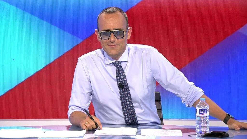 """Risto Mejide regresa de las vacaciones """"agradecido y emocionado"""""""