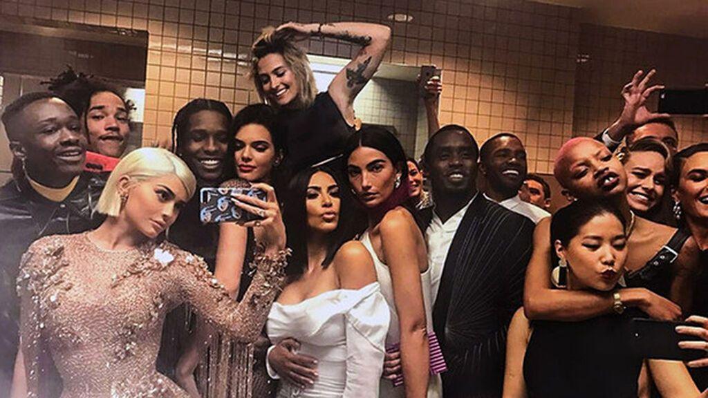 El selfie prohibido de Kylie Jenner.