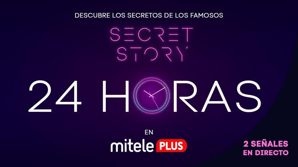 'Secret Story La casa de los secretos' emitirá una doble señal 24 horas en directo: una gratuita en Mitele y una exclusiva en Mitele PLUS