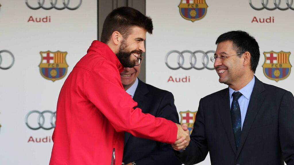 "Piqué carga contra Bartomeu: ""¿El peor presidente del Barcelona? Debe de estar ahí"""