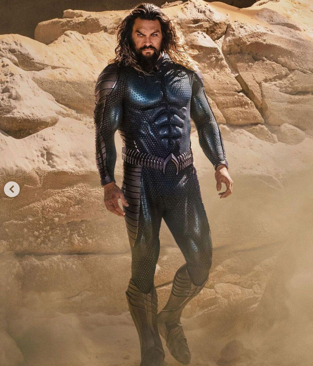 El neuvo traje de Aquaman