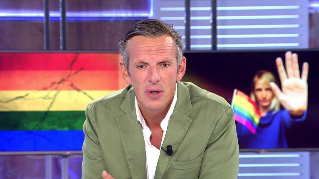 Joaquín Prat condena la homofobia