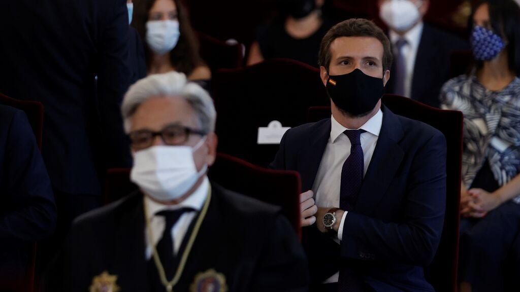 """Sánchez descarta llamar a Casado para negociar el CGPJ: """"No se llama a nadie para que cumpla la Constitución"""""""