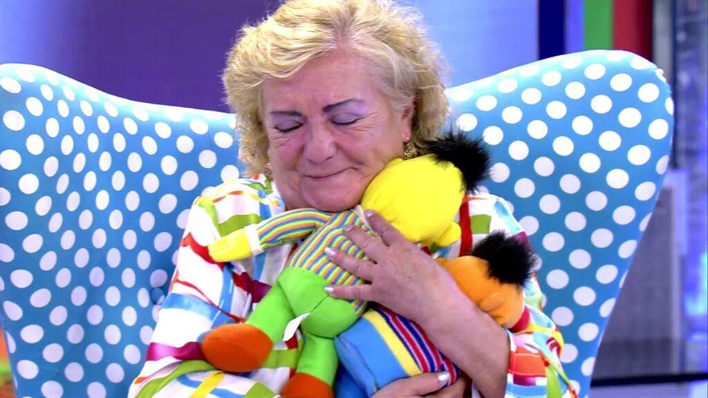 Los muñecos que Humberto Janeiro guardaba de su nieta Andrea