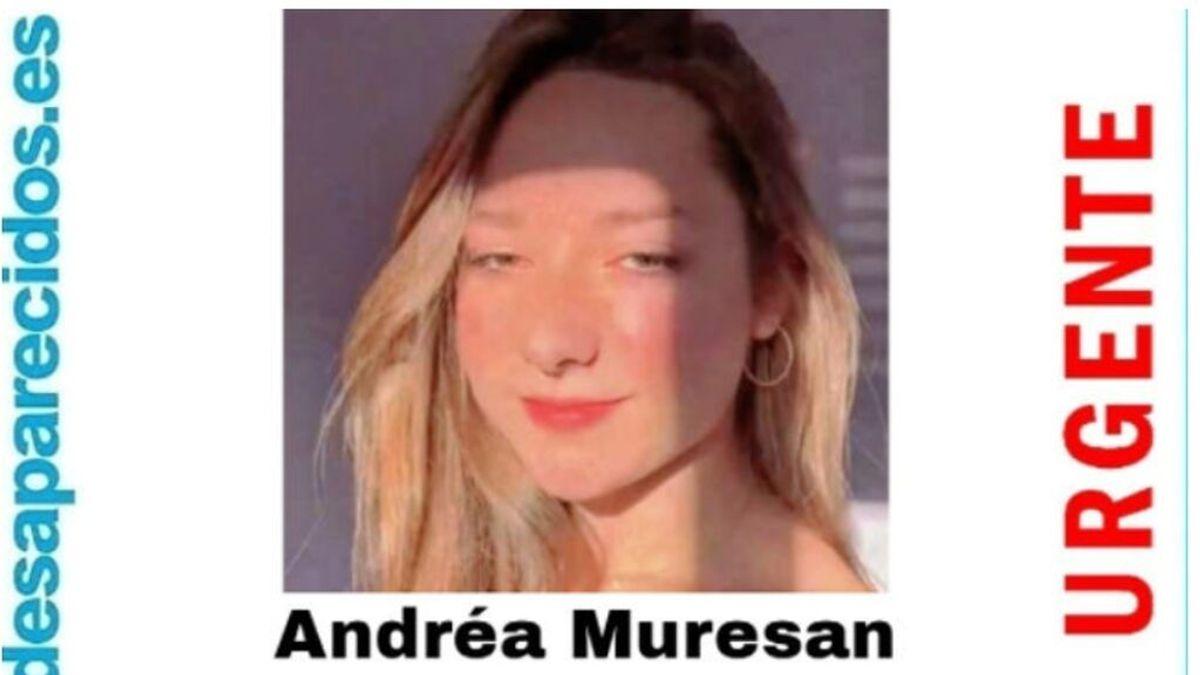 La Guardia civil pide ayuda para encontrar a Andréa Muresán, de 16 años, desaparecida en Caldas de Reis desde el 8 de julio
