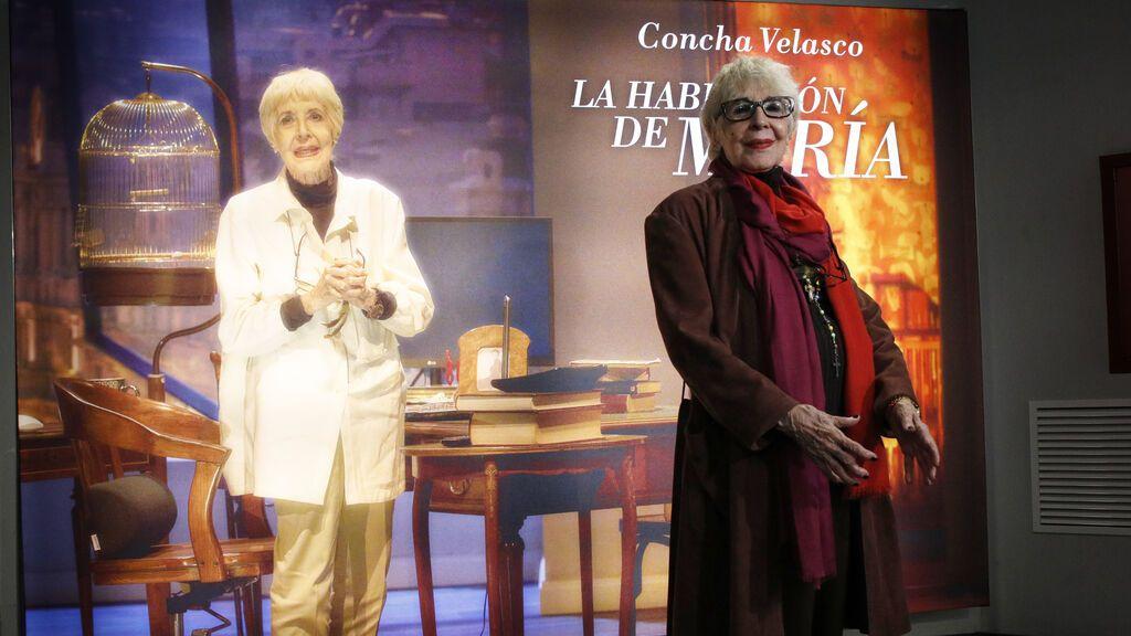 'La habitación de María' será la última función de Concha Velasco