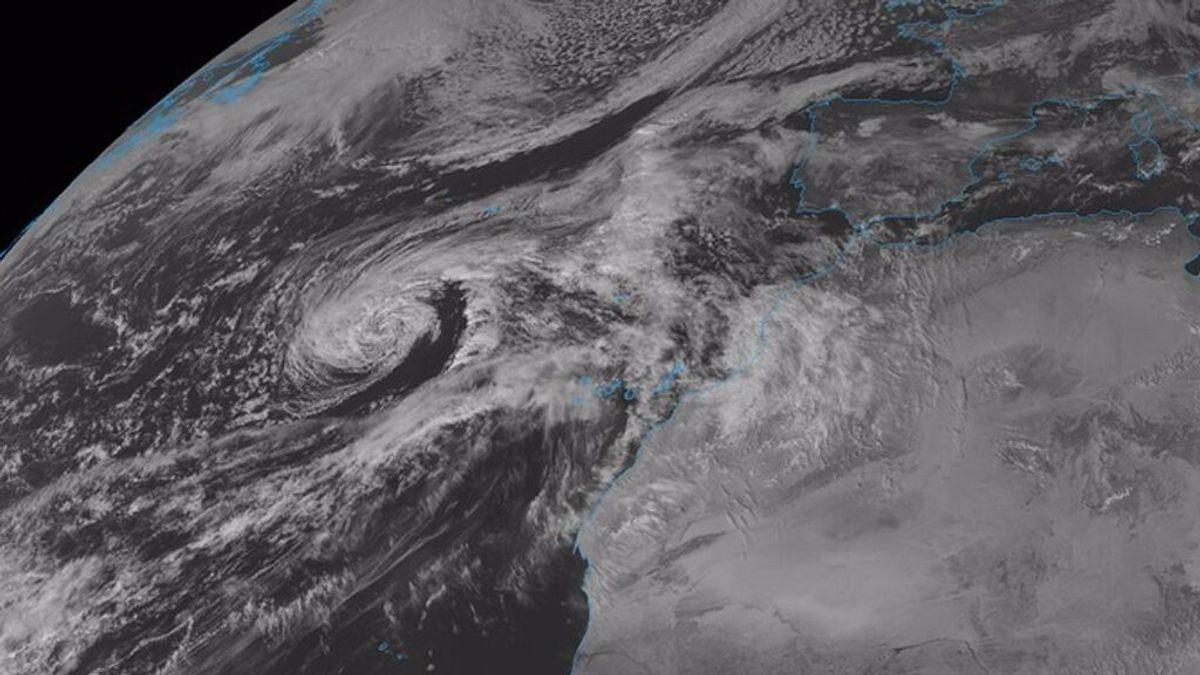 Meteorólogos alertan de la posible llegada de un ciclón tropical a Canarias la próxima semana