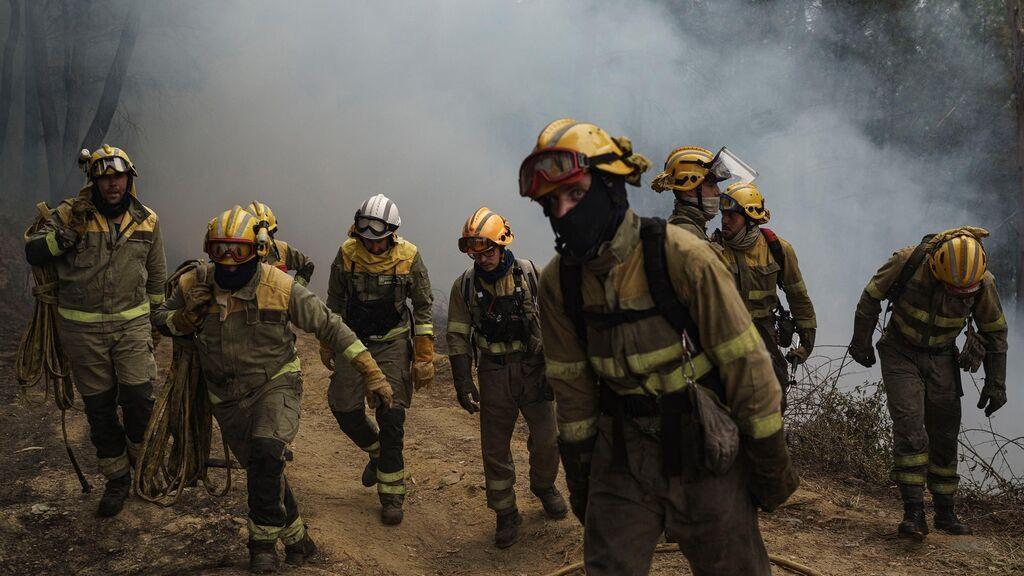 Investigan cómo comenzó el cruento incendio de Ribas de Sil, el mayor del año en Galicia
