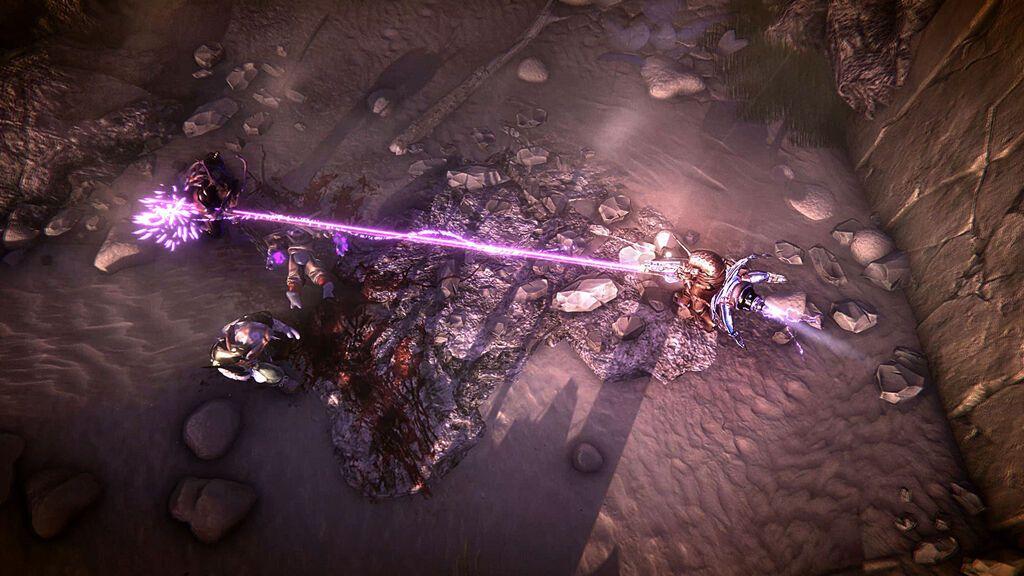 Clid the Snail PS4 - Fighting-in-Sashan-Desert