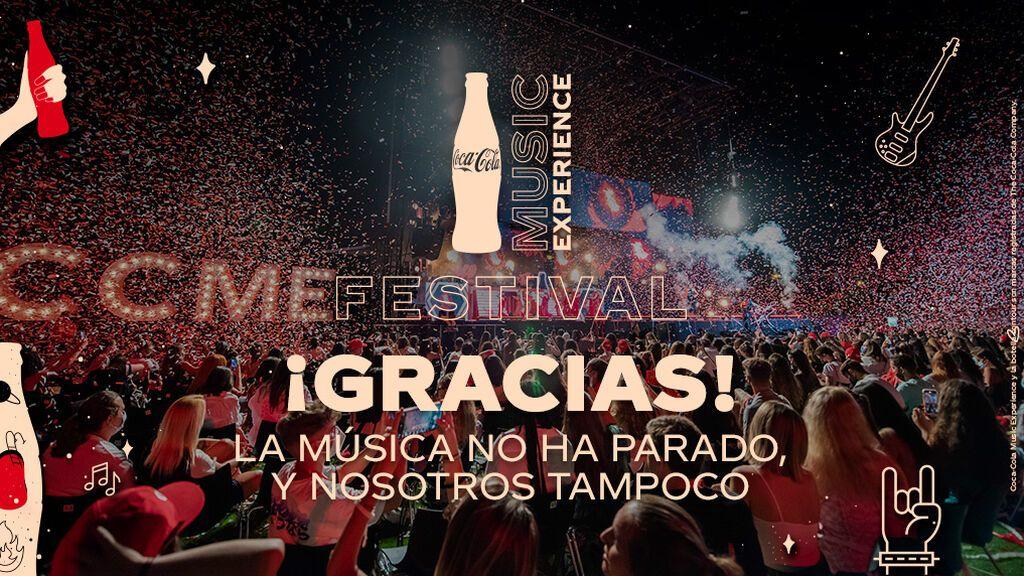 La música en directo vuelve con el Festival Coca-Cola Music Experience: ¡Gracias a todos los que participasteis!