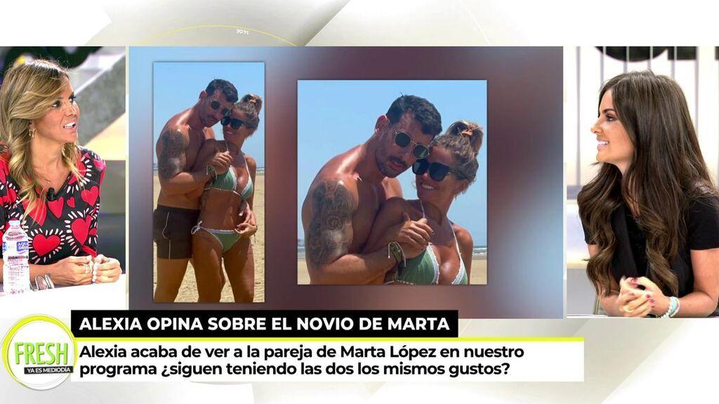 El susto de Marta López