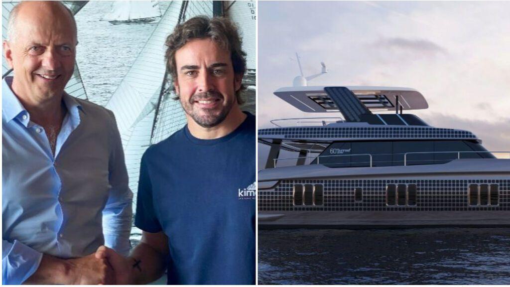 Fernando Alonso se da un capricho ecológico: un super yate híbrido de 4 millones de euros