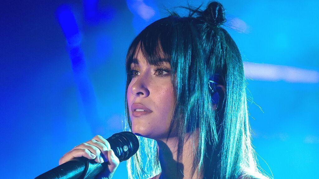 Aitana cancela un concierto por motivos de salud
