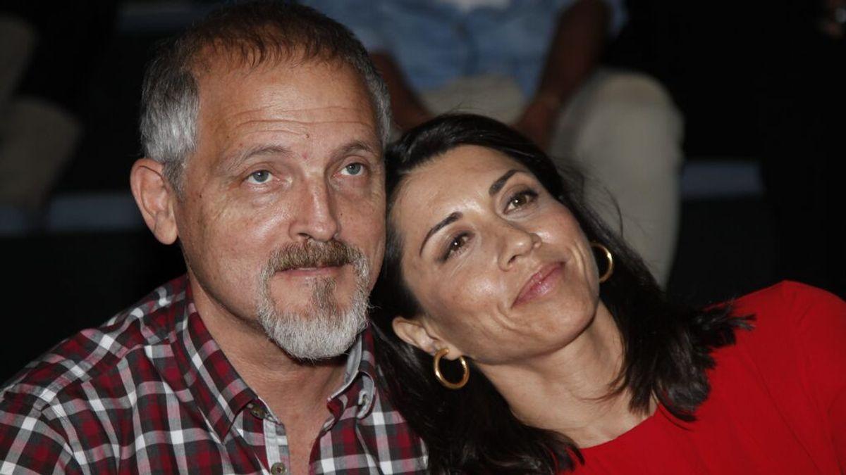 Jordi Rebellón con Alicia Borrachero