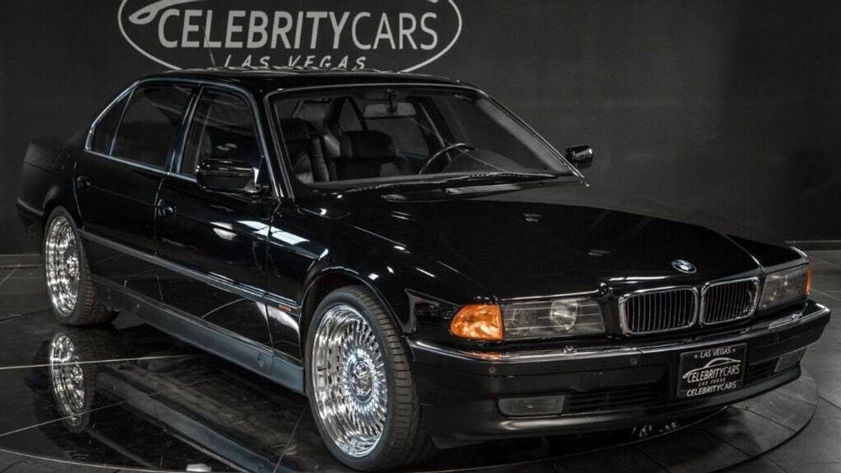 Ponen a la venta el coche en el que fue tiroteado el rapero Tupac Shakur