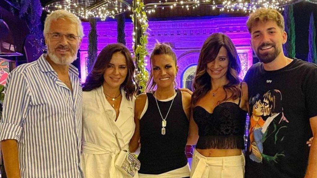Reunión de 'Supervivientes': Marta López, Olga Moreno, Agustín Bravo y Alejando Albalá, juntos de nuevo