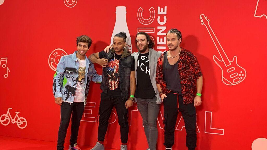 Unique en el Festival Coca-Cola Music Experience