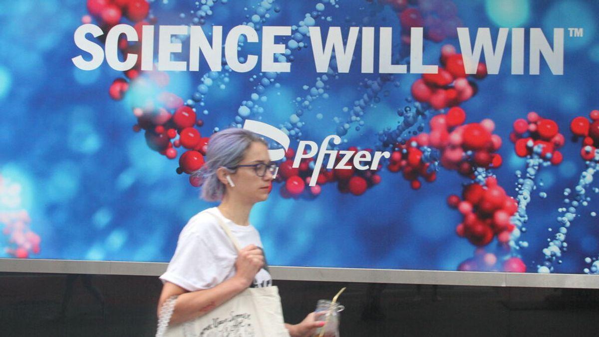 Pfizer afirma que no hizo una vacuna más potente para evitar efectos secundarios