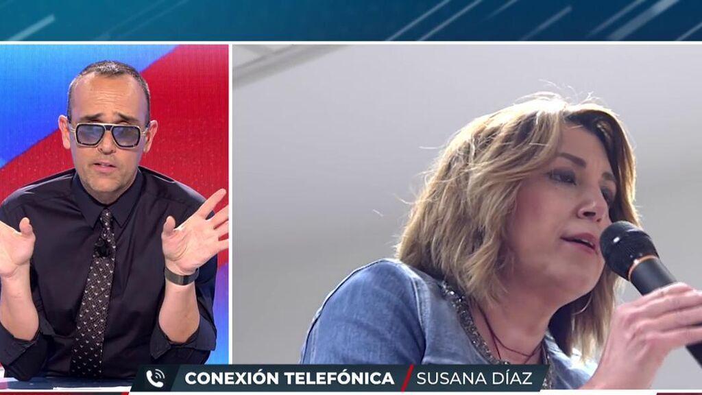 """Susana Díaz, nueva colaboradora de 'Todo es mentira': """"Solo he puesto una condición"""""""