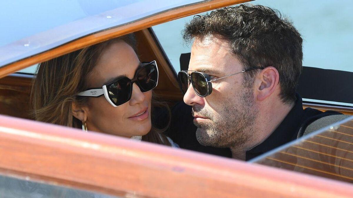 Jennifer López y Ben Affleck, dos enamorados en Venecia
