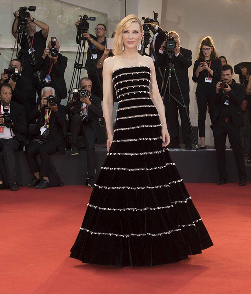 Cate Blanchett, de Armani Privé en 2019