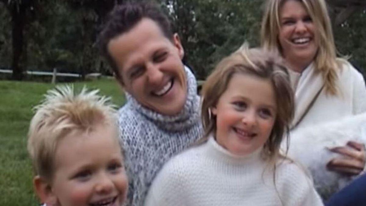 """Corinna Schumacher, sobre el estado de salud de su marido: """"Michael está aquí. Diferente, pero está"""""""
