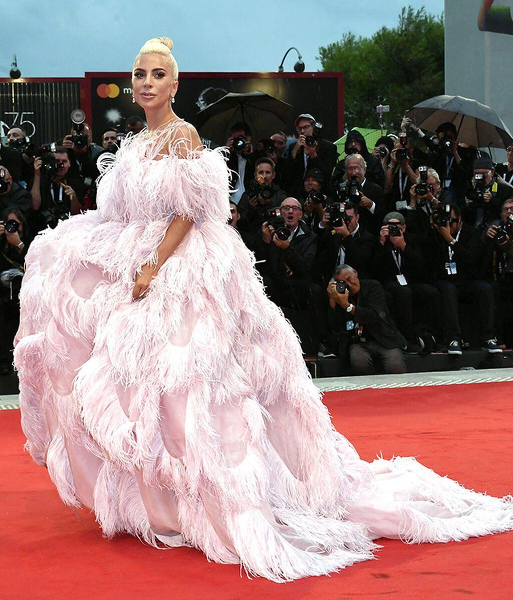 Lady Gaga, de Valentino Haute Couture en 2018