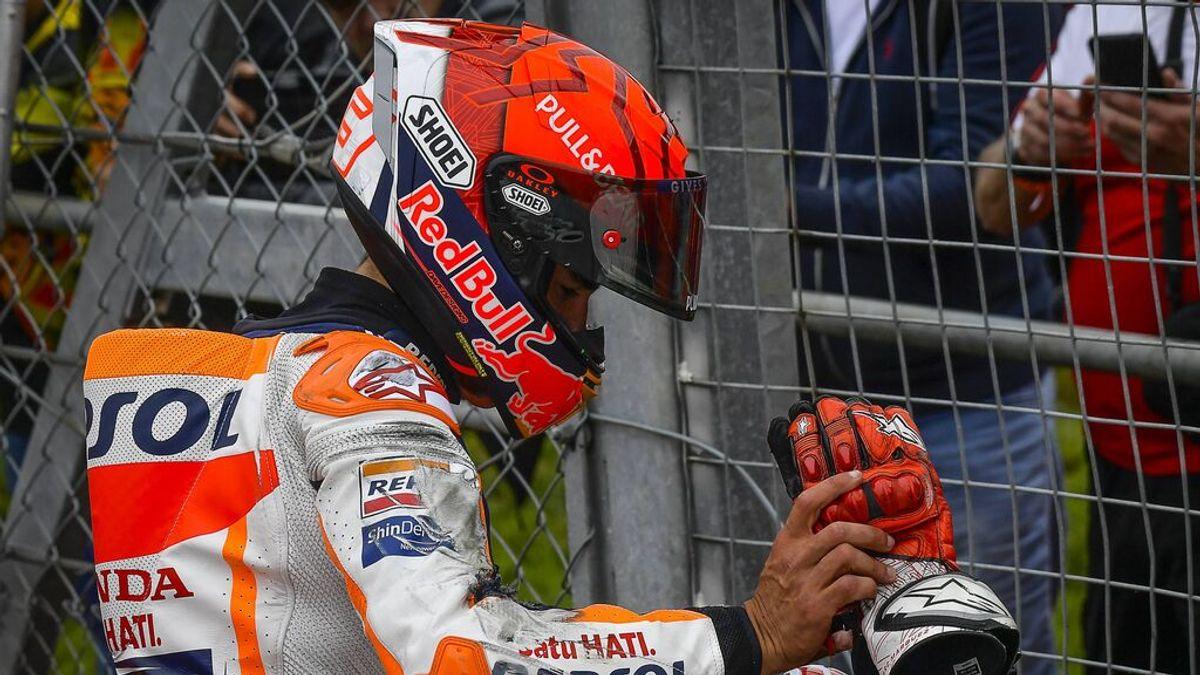 """Marc Márquez, antes del GP de Aragón: """"Ganas de hablar, poco, de subirme a la moto, mucho"""""""