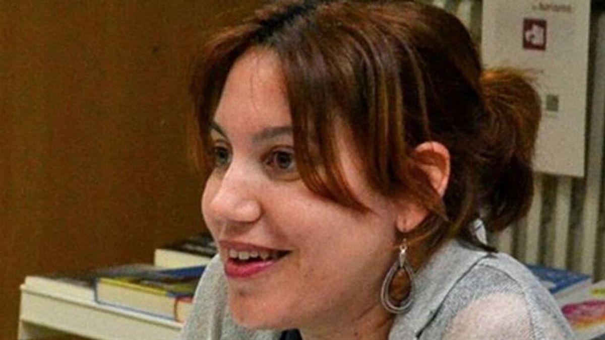 Silvia Caballol, en una de las pocas imágenes que hay de ella