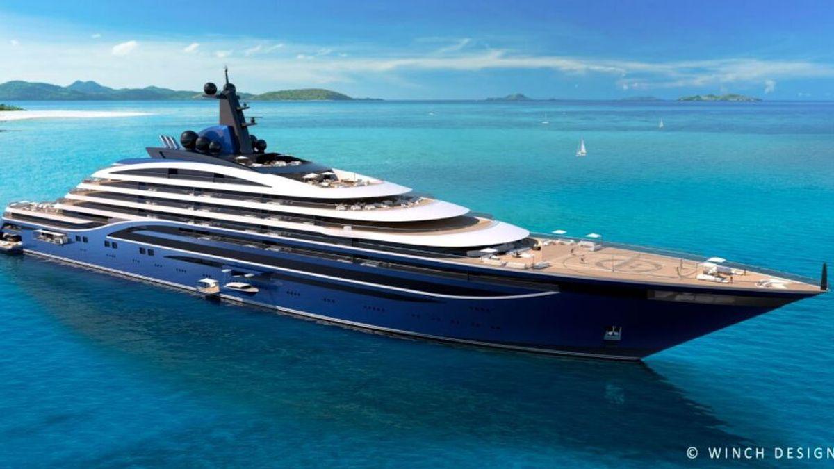 Vivir en pleno mar: se vende camarote en el yate más grande del mundo por 9,5 millones de euros