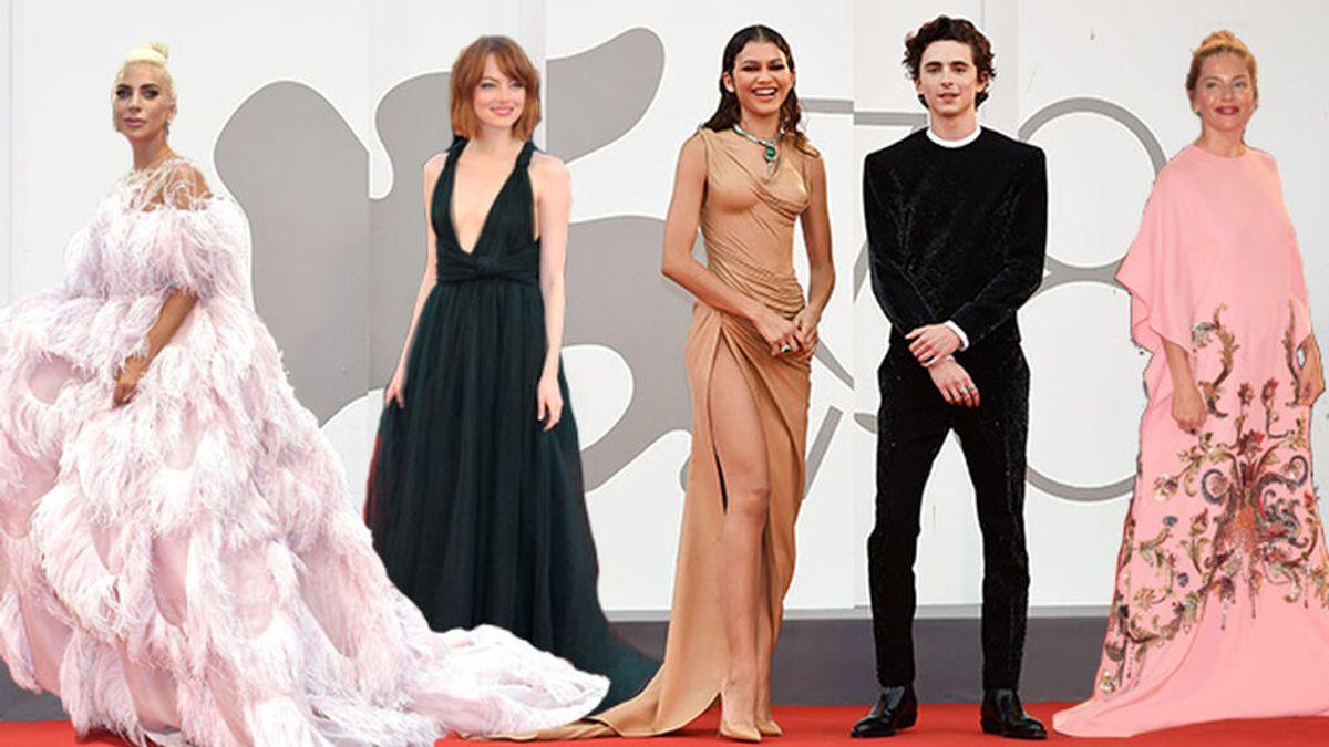 El Valentino de Emma Stone o el Balmain de Milena Smit entre los mejores looks de la historia del Festival de Venecia
