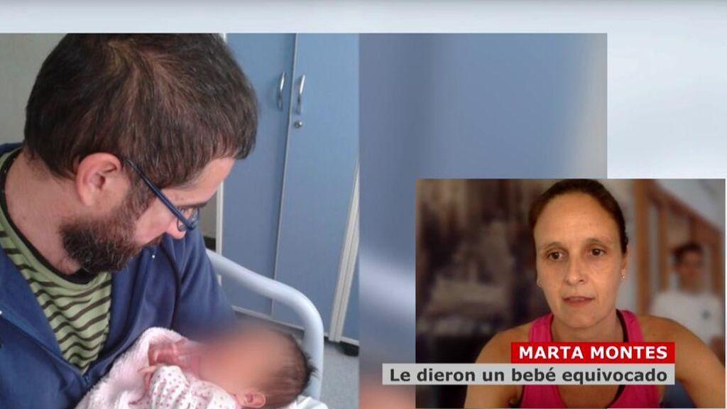Cambiaron a su bebé