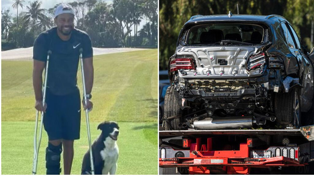 Tiger Woods, desaparecido desde el accidente: no puede jugar al golf y no comparte imágenes desde abril