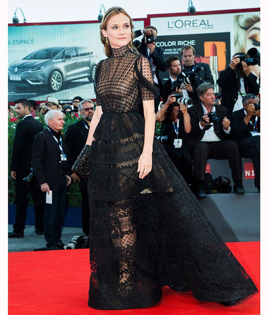 Diane Kruger, de Valentino Haute Couture en 2015