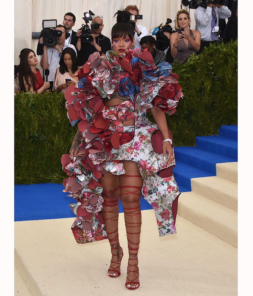 Rihanna, de Comme des Garçons en 2017