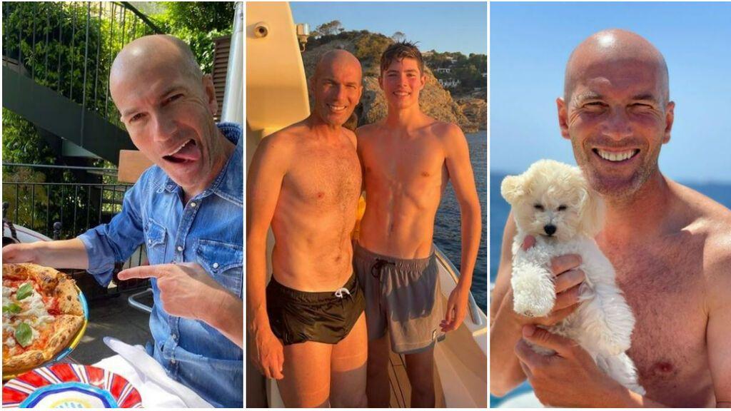El 'nuevo' Zidane: más relajado, familiar, y esperando la llamada de la Selección francesa