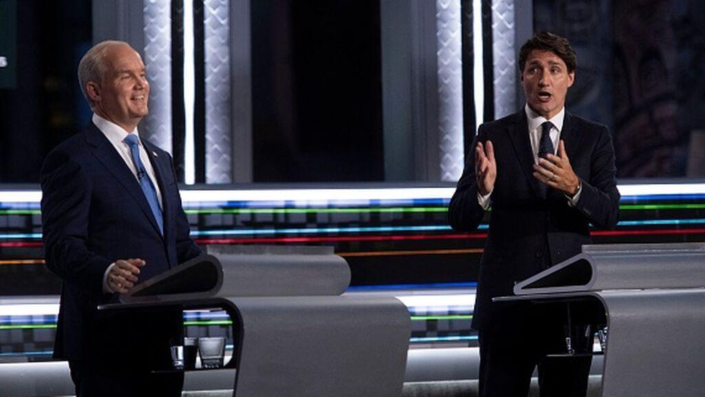 Trudeau, a la defensiva ante los ataques de la oposición canadiense en el debate televisado