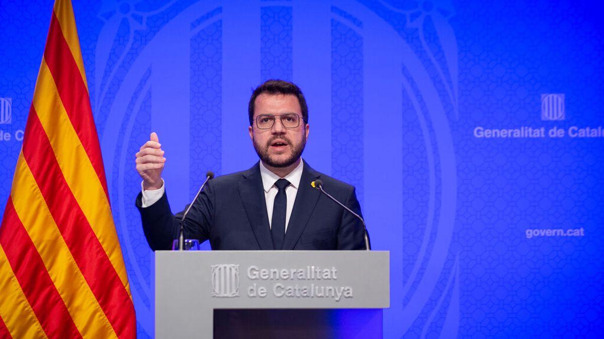 """Aragonès, sobre la suspensión de la ampliación de El Prat: """"El Gobierno nunca ha querido invertir en Cataluña"""""""