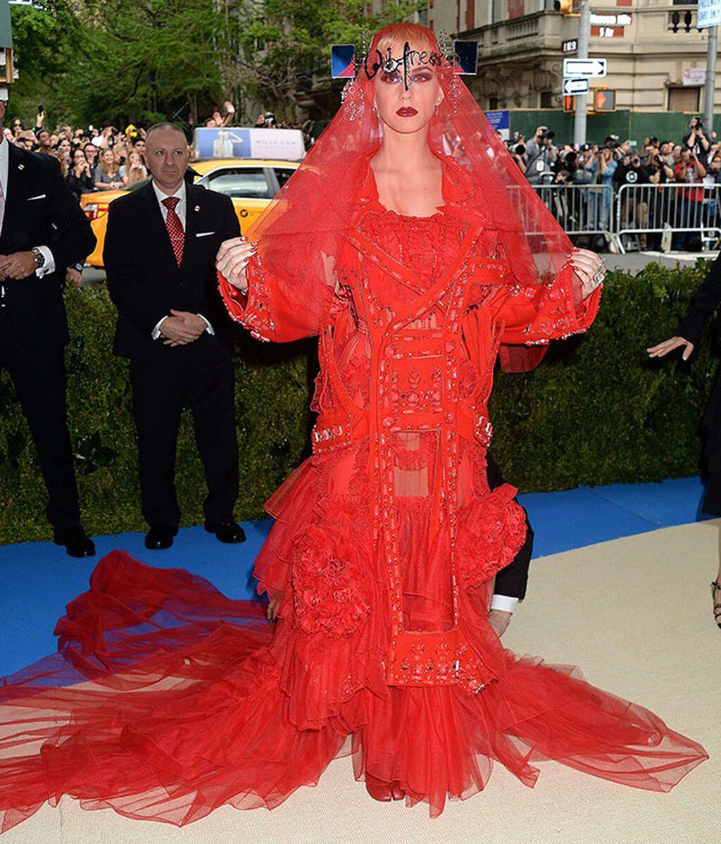 Katy Perry, de Maison Margiela en 2017