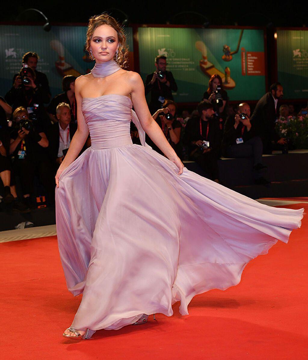 Lily Rose Depp, de Chanel en 2019