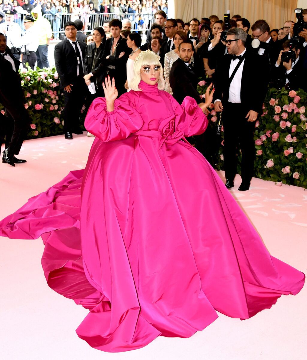 Lady Gaga, de Brandon Maxwell en 2019