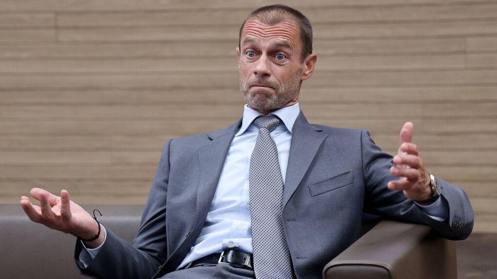 """Ceferin: """"No me importaría que Real Madrid, Barcelona y Juventus se fueran de la Champions"""""""