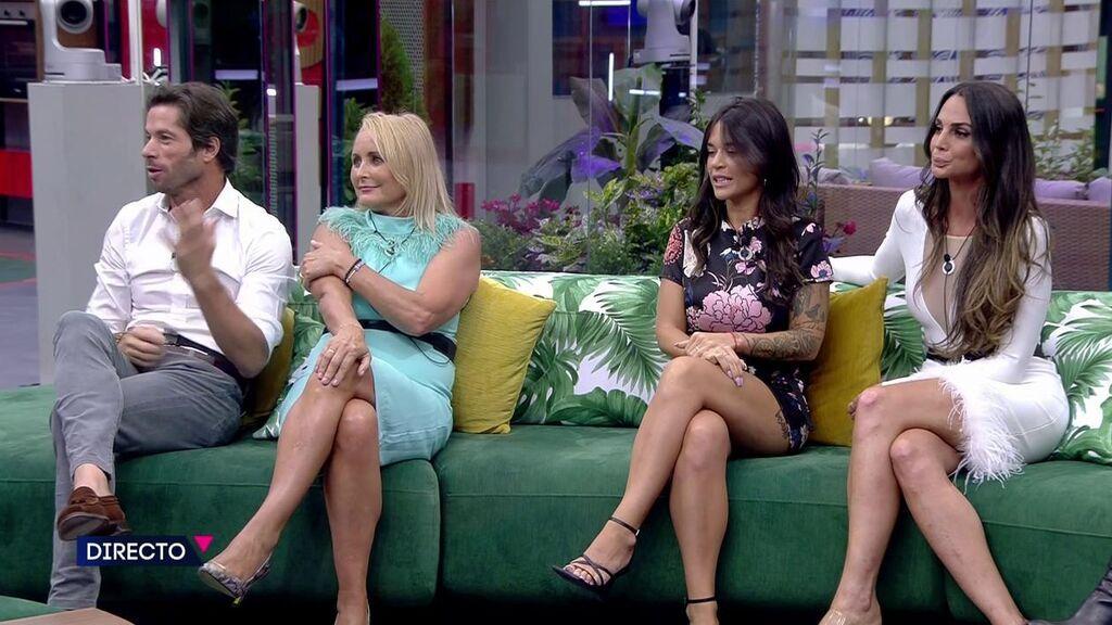 El reencuentro de Cynthia Martínez y Canales Rivera