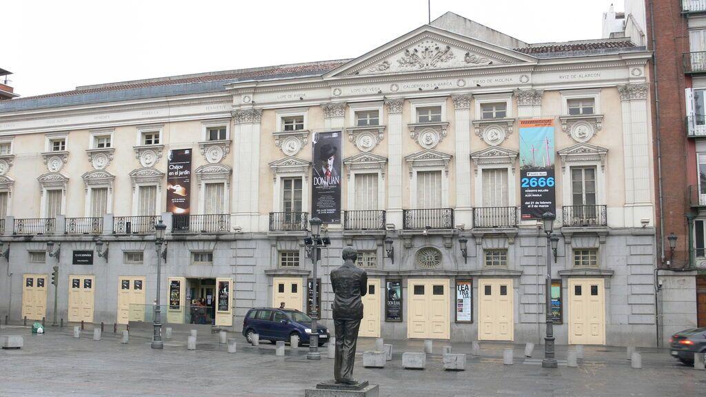 Plaza de Santa Ana, en Madrid.
