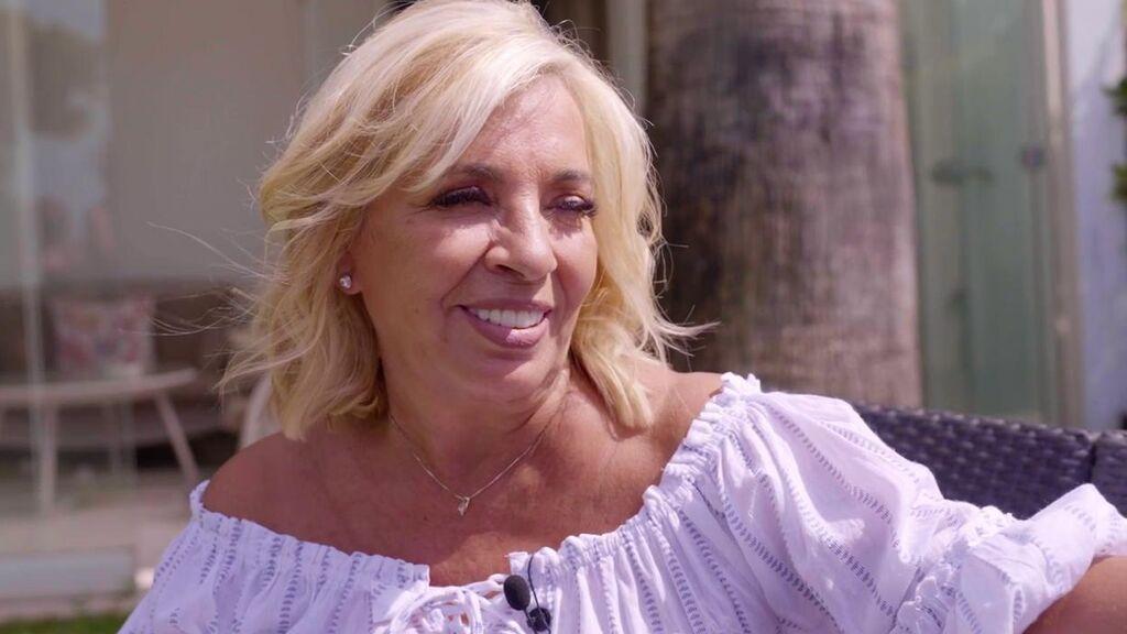 Carmen Borrego, en el vídeo de presentación de Luis Rollán