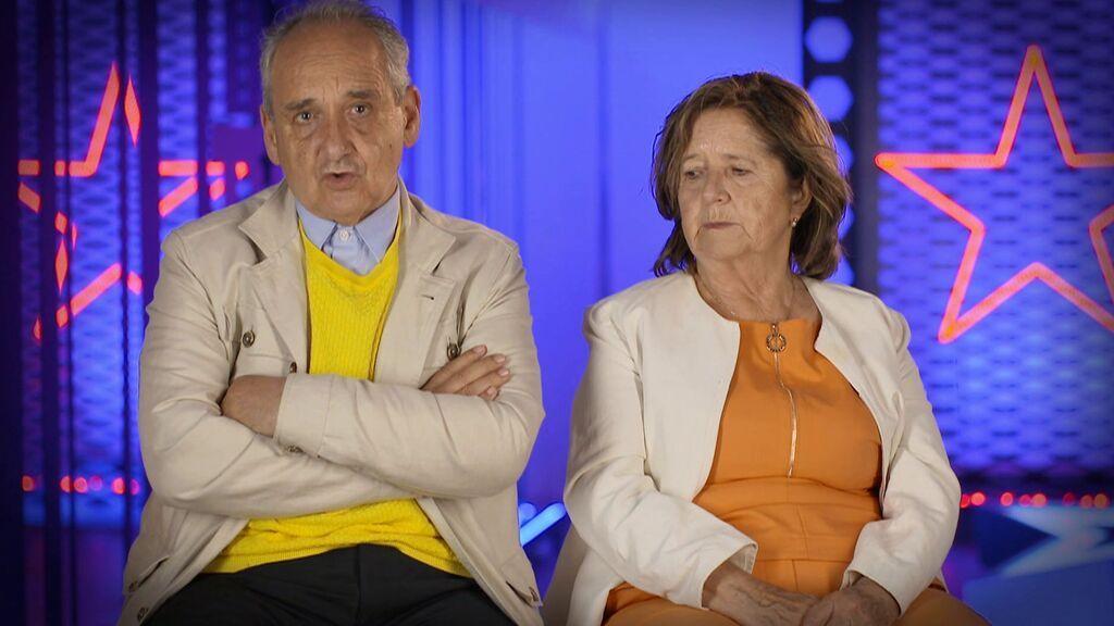 Joaquín y Ana, padres de Ignacio Echeverría