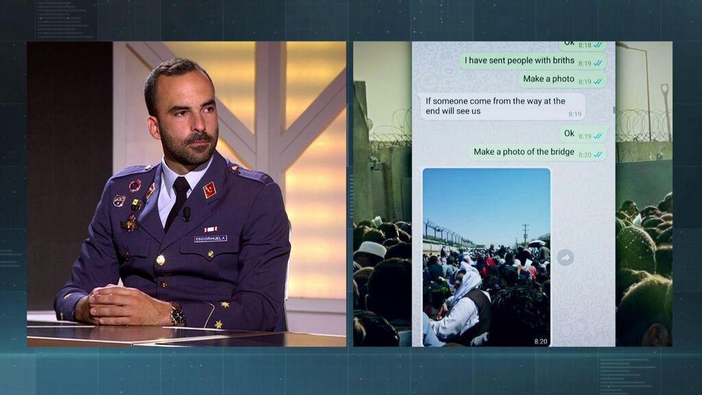 """El capitán Escorihuela relata cómo identificaban a las personas que rescataron en Afganistán: """"Teníamos que reinventar los códigos"""""""