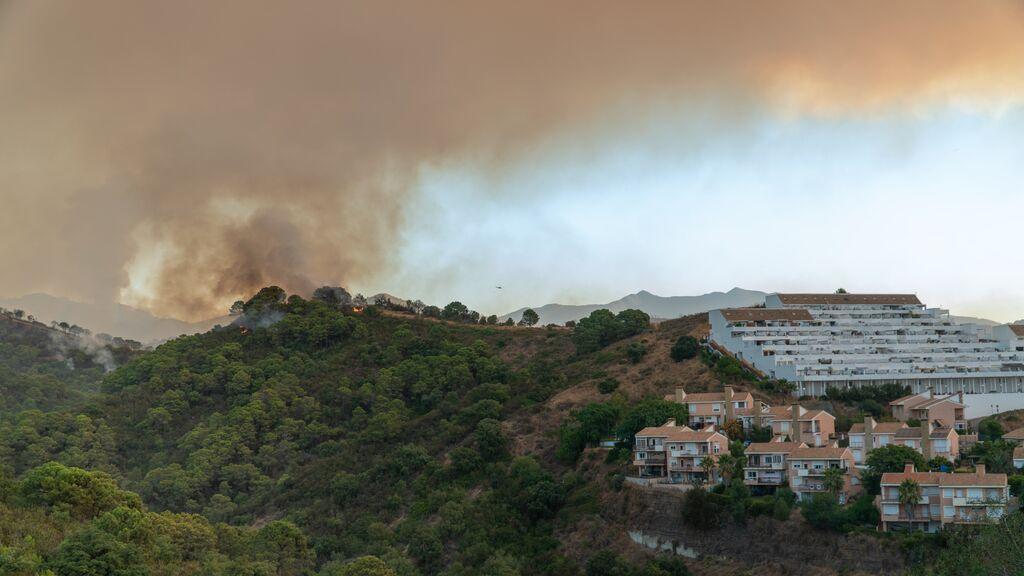 El incendio en Sierra Bermeja fue provocado: ya ha calcinado más de 3.600 hectáreas