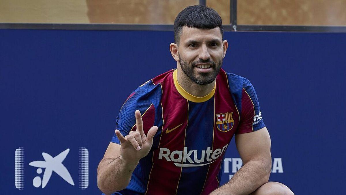 """El Kun Agüero disipa todas las dudas: """"Volvería a fichar por el Barcelona aunque no estuviera Messi"""""""